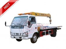 Road Wrecker with Crane ISUZU